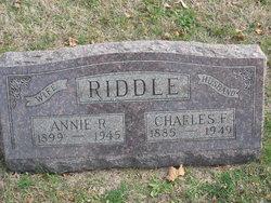 Annie R <I>Duffield</I> Riddle