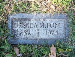 Ursula M Font