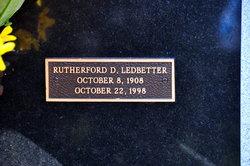 Rutherford D. Ledbetter