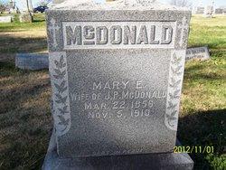 Mary E McDonald