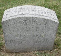 Frederick Zettler