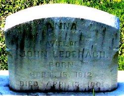 "Mrs Anna ""Nancy"" <I>Stauffer</I> Lederach"
