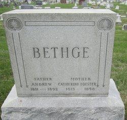 Catherine <I>Foester</I> Bethge