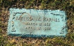 Melissa M Barnes