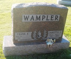 Janetta Jane <I>Palmer</I> Wampler