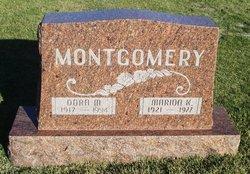Dora Maxine <I>Federle</I> Montgomery
