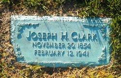 Joseph H Clark