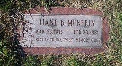 Liane B McNeely