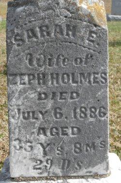 Sarah E. Holmes
