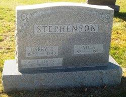 Harry E Stephenson