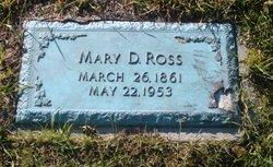 Mary D Ross