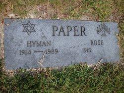 Hyman Paper