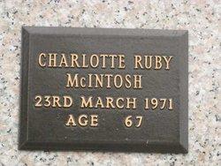 Charlotte Ruby McIntosh
