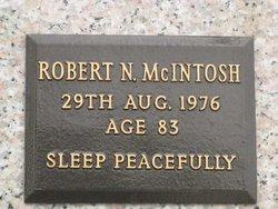 Robert N McIntosh