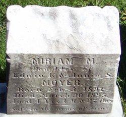 Miriam M. Moyer