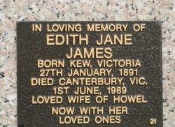 Edith Jane James