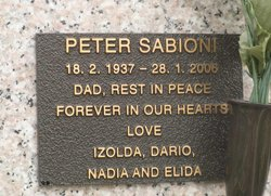 Peter Sabioni