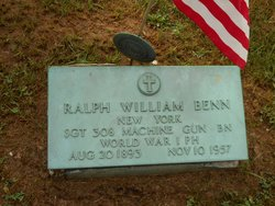 Sgt Ralph William Benn