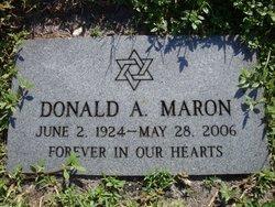 Donald A Maron