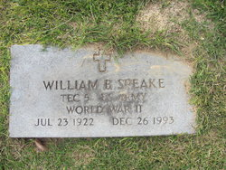 William Benjamin Speake