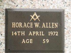 Horace W Allen