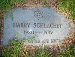 Harry Schlachet
