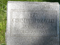 Christina <I>Wishart</I> Pomaville