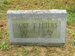 Alice T. <I>Ingeman</I> Peters