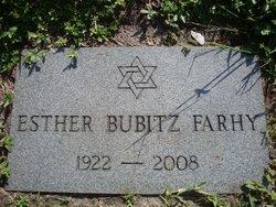 Esther <I>Bubitz</I> Farhy