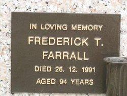 Frederick T Farrall