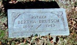 Bertha <I>Scholtz</I> Bruetsch