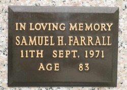 Samuel H Farrall