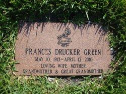 Frances <I>Drucker</I> Green