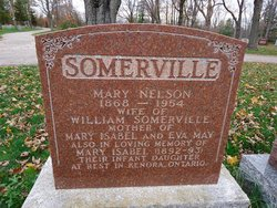 Mary <I>Nelson</I> Somerville