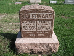 Anna Katherine <I>Sievers</I> Leonard
