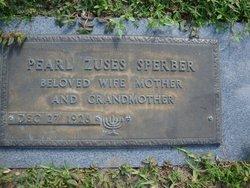 Pearl <I>Zuses</I> Sperber