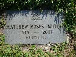 """Matthew """"Mutty"""" Moses"""