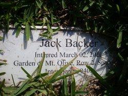 Jack Backer