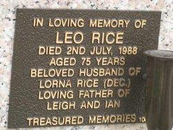Leo Rice