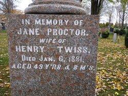 Jane <I>Proctor</I> Twiss