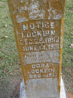 Notice Locklin