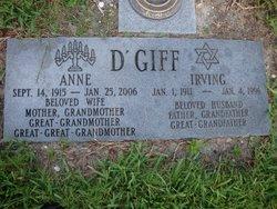 Irving D'Giff