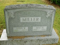 Mae H. Miller