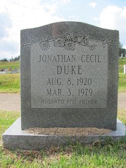 Jonathan Cecil Duke