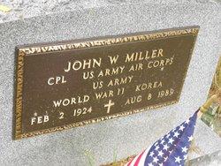 Corp John W. Miller