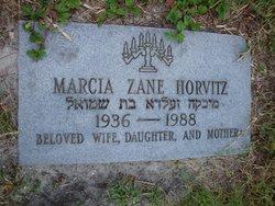 Marcia <I>Zane</I> Horvitz