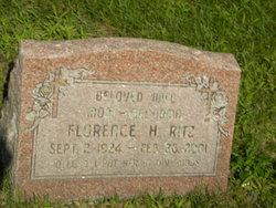 Florence Helen <I>Schalm</I> Ritz