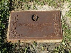 Frances J Crowe