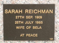 Sarah Reichman
