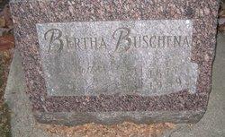 Bertha E. <I>Scherding</I> Buschena